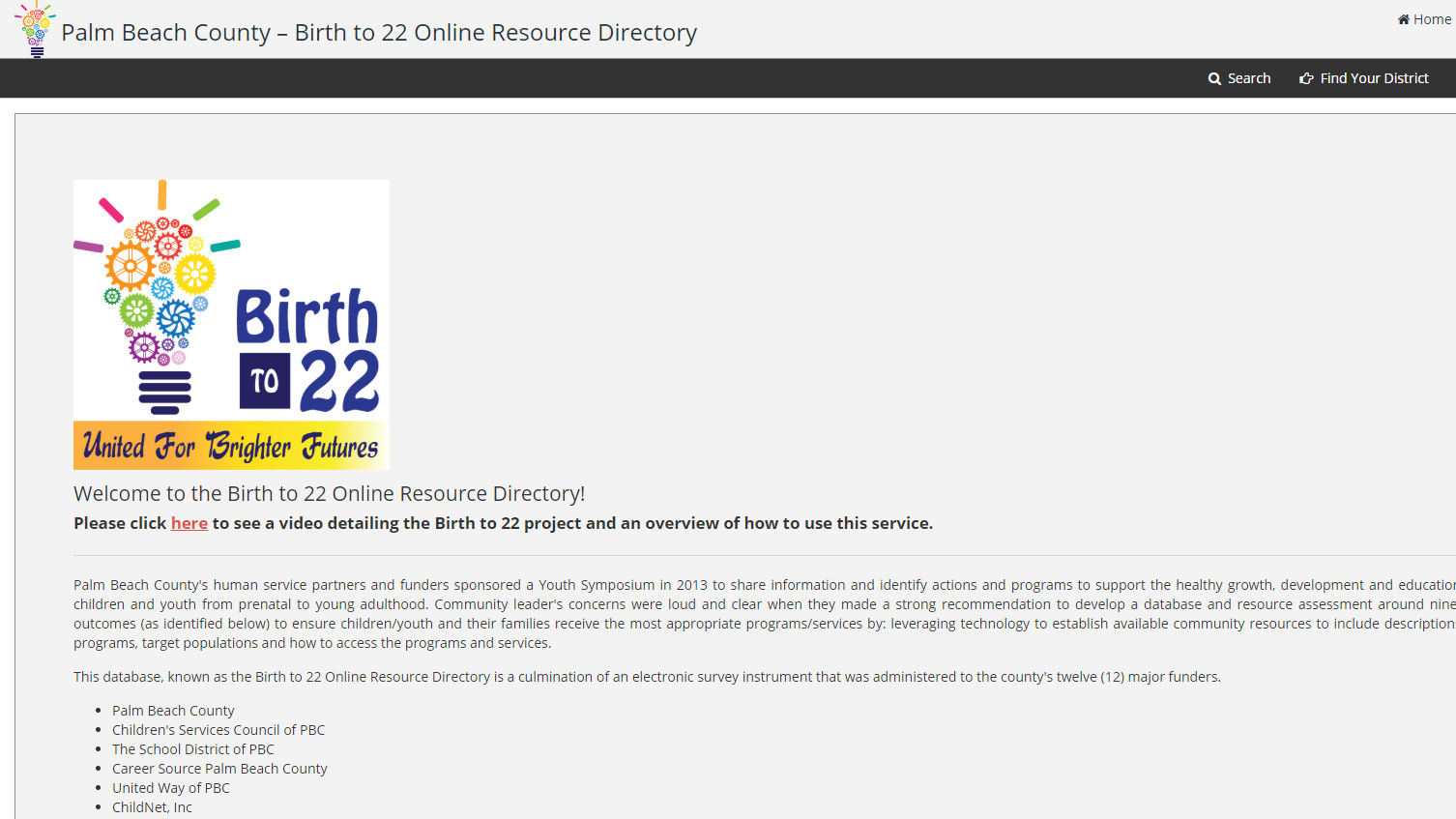 Using the Online Resource Directory